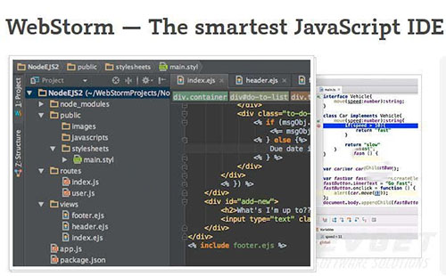 JetBrains WebStorm开发工具